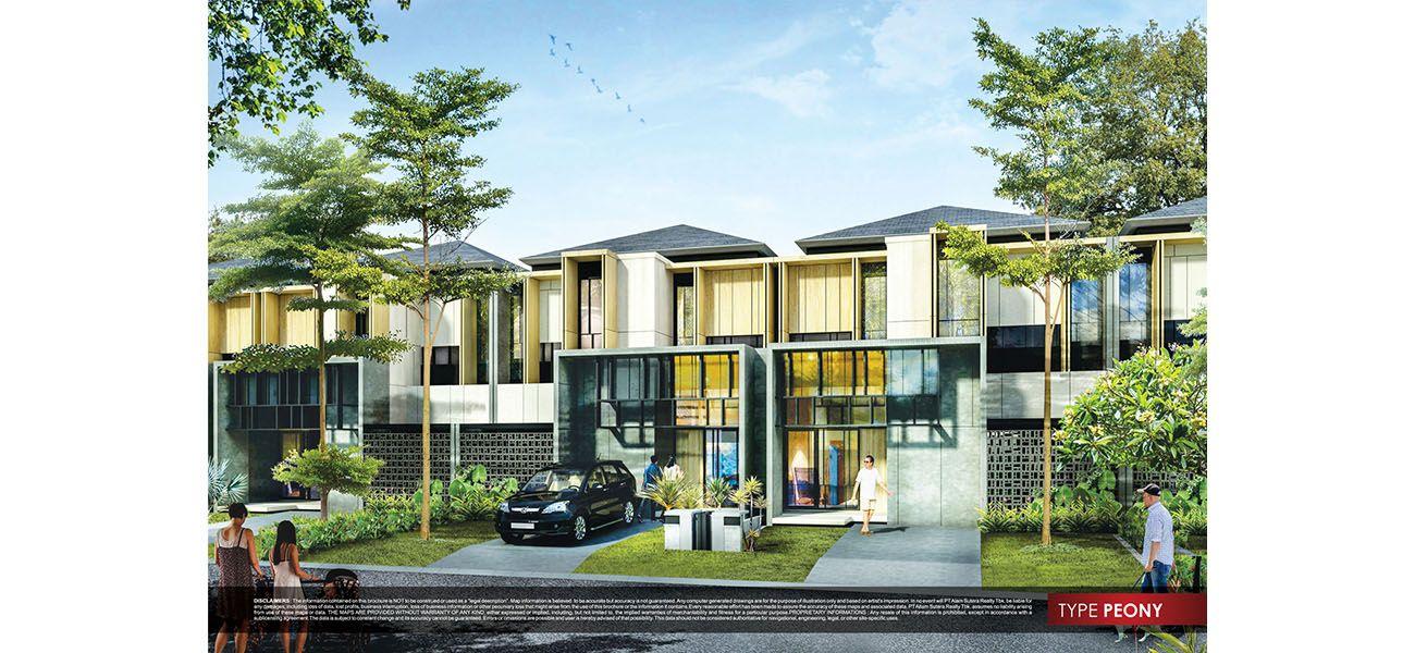 Residensial Cluster New Alba at Alam Sutera di Tangerang