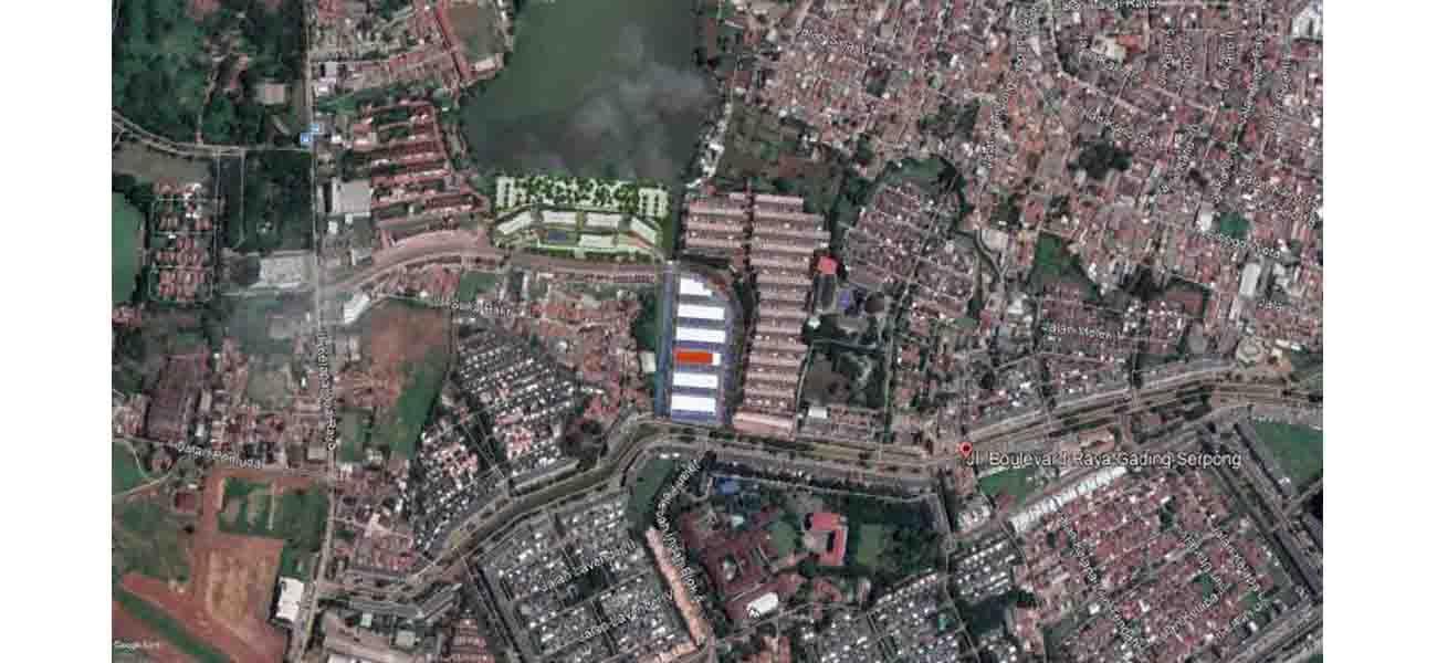 Komersial Ruko Arcadia Grande di Tangerang