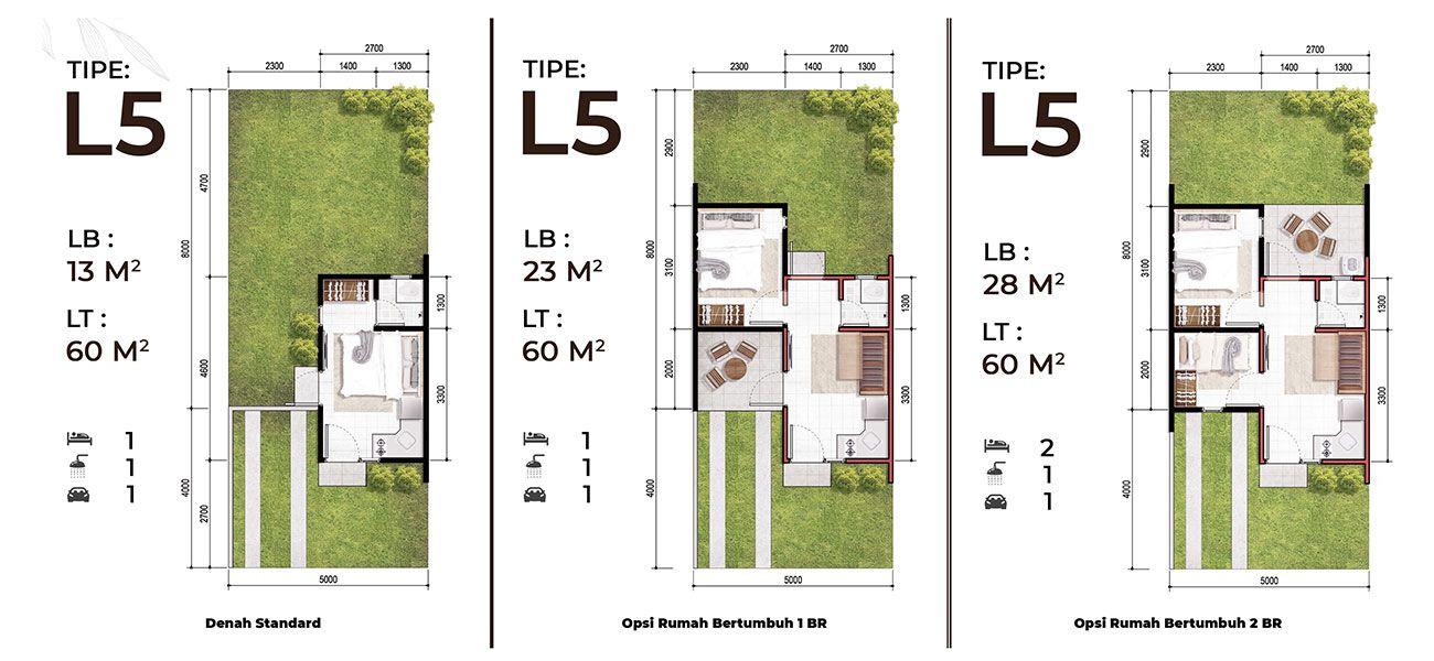 Residensial & Komersial Modernland Cilejit Tipe Studio Landed Home  di Tangerang
