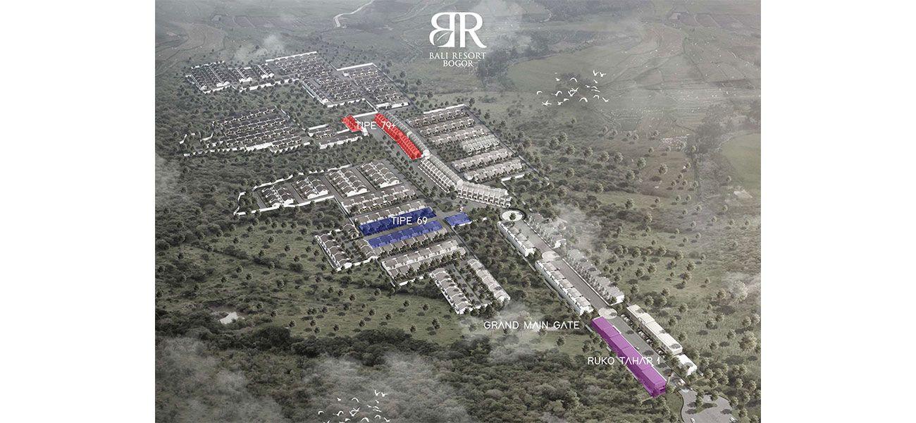 Residensial & Komersial Ruko Bali Resort Bogor  di Bogor