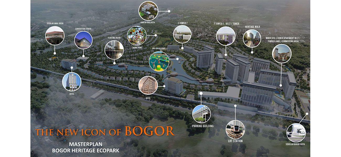 Residensial Bogor Heritage Ecopark di Bogor