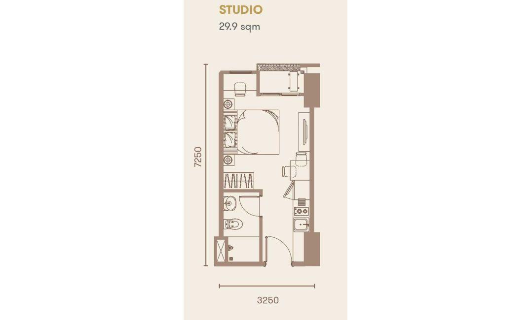 Residensial + Komersial Sakura Garden City Tipe Studio di Jakarta Timur
