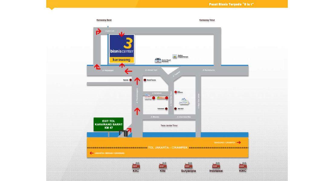 Residensial + Komersial Olympus Development Karawang di Karawang