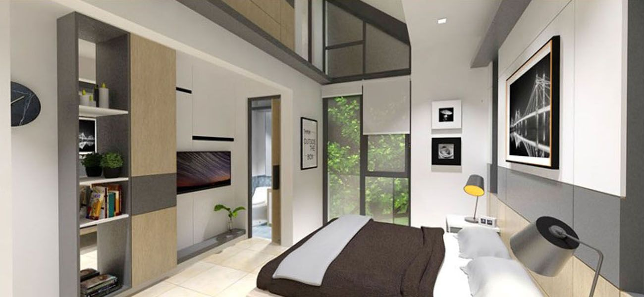 Residensial & Komersial BSD City - Provence Suites Tipe 67 di Tangerang Selatan