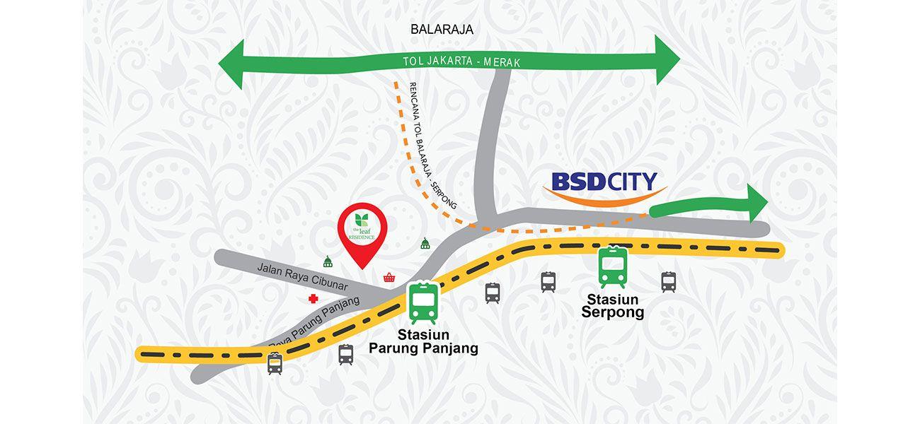 Residensial The Leaf Residence di Bogor