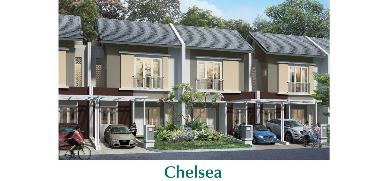 Cluster Chelsea & Cherry at Kota Summarecon Bandung
