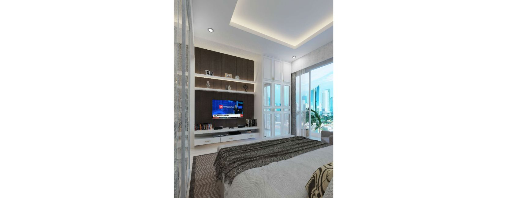Residensial Kemang Village – The Ritz Tipe Royal Penthouse di Jakarta Selatan
