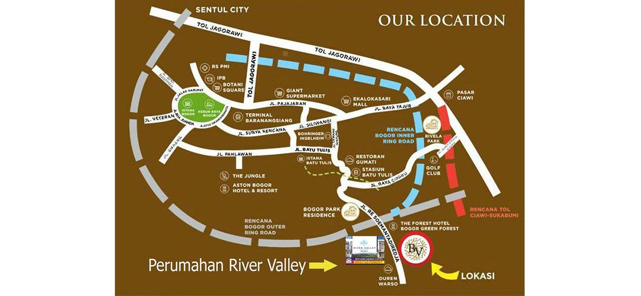 Residensial River Valley di Bogor