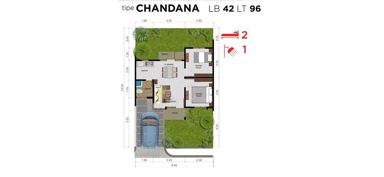 Residensial Citra Maja Raya Tipe Chandana di Lebak