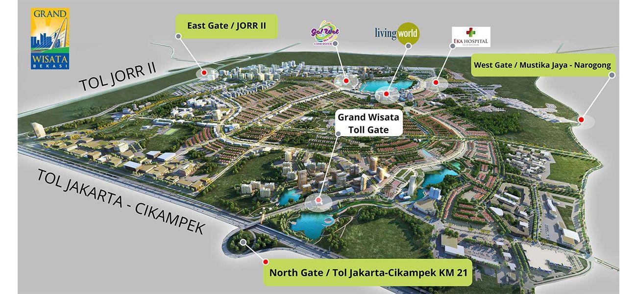 Residensial Grand Wisata di Bekasi