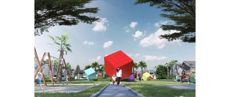 Residensial + Komersial Citra Indah Cluster Bukit Salvia Tipe 38 di Bogor