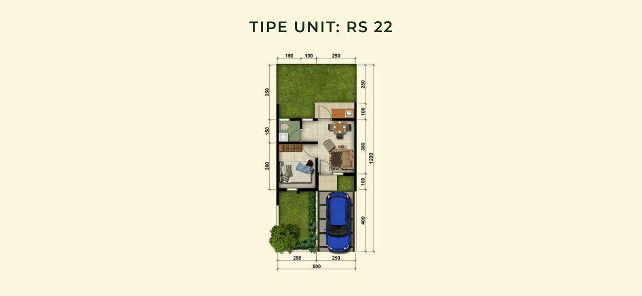 Residensial & Komersial Modernland Cilejit Tipe RS 22 di Tangerang