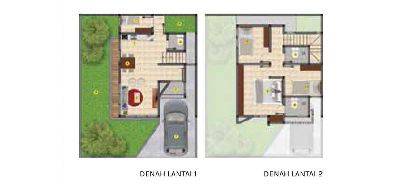 Residensial Balboa Estate Bintaro Tipe 7 di Tangerang