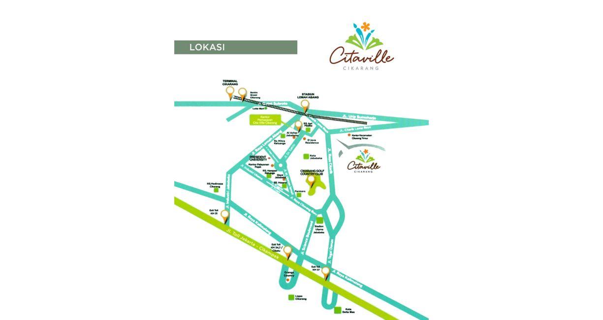 Residensial Citaville di Bekasi