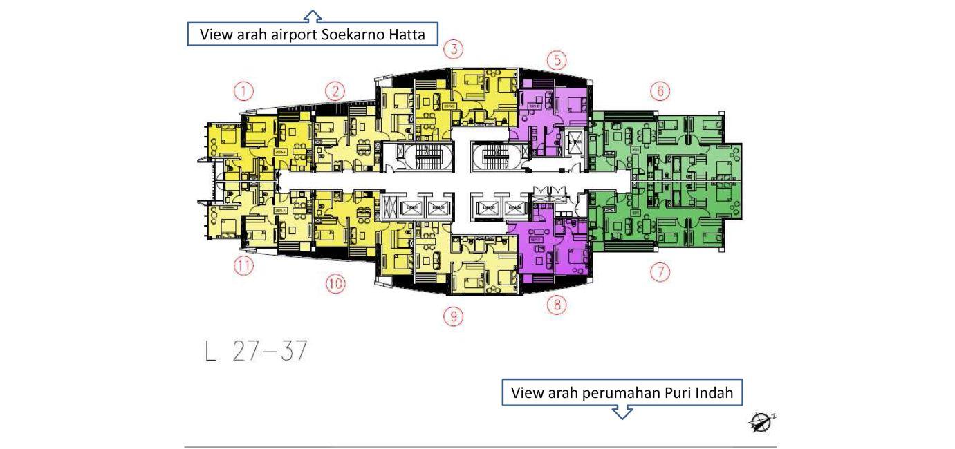 Residensial Ciputra International di Jakarta Barat