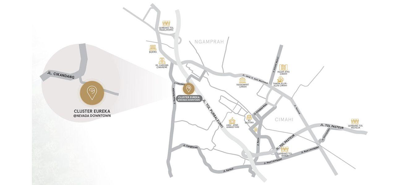 Residensial Cluster Eureka di Bandung