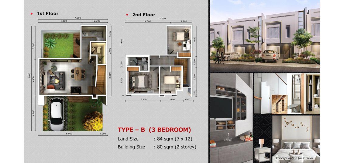 Residensial SAVASA Tipe B di Bekasi