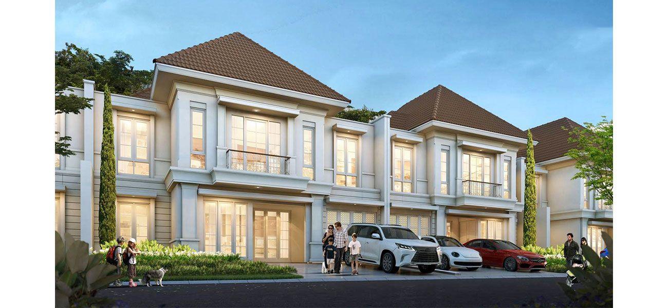 Residensial Granada Paramount Tipe 12 Hoek  di Tangerang