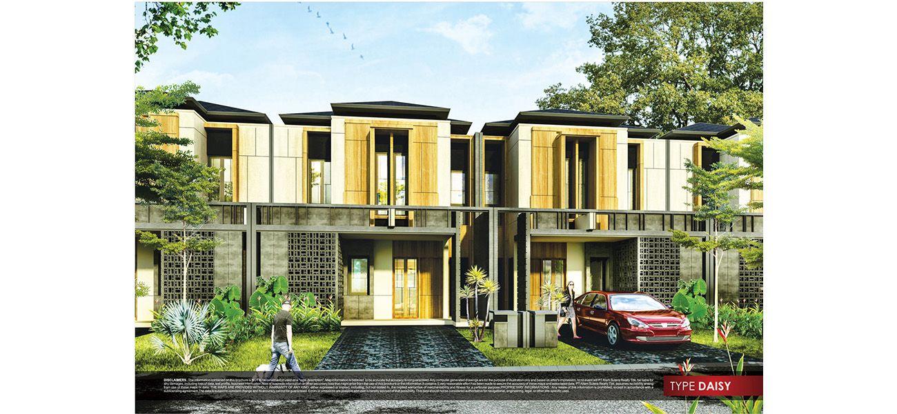 Residensial Cluster New Alba Tipe Daisy di Tangerang