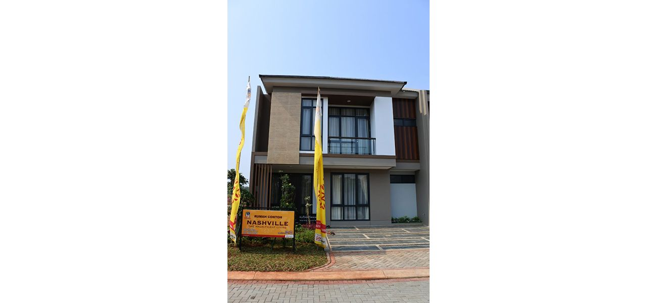 Residensial Nashville at Kota Wisata Cibubur Tipe 166 di Bogor