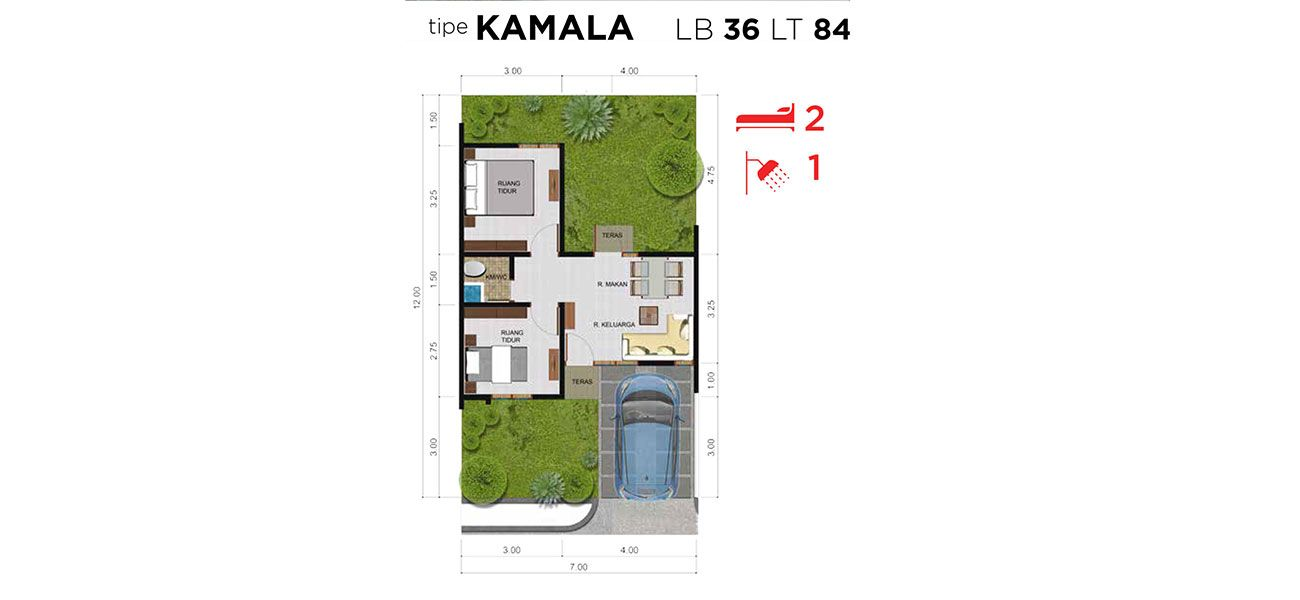 Residensial Citra Maja Raya Tipe Kamala di Lebak