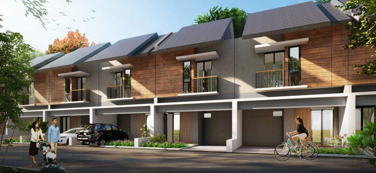 Residensial & Komersial Naira Residence Tipe Jade di Tangerang Selatan