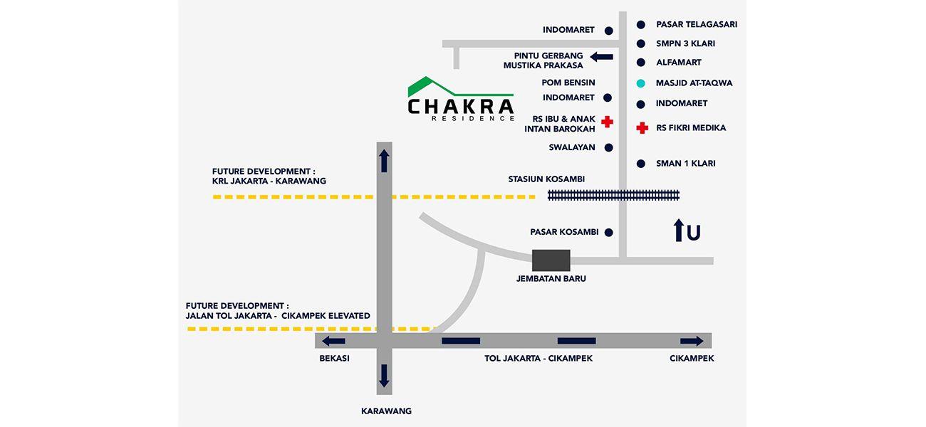 Residensial Chakra Residence di Karawang