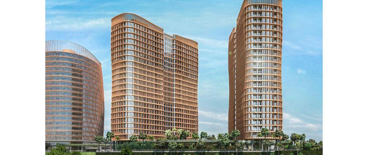 Residensial South Quarter Residence di Jakarta Selatan