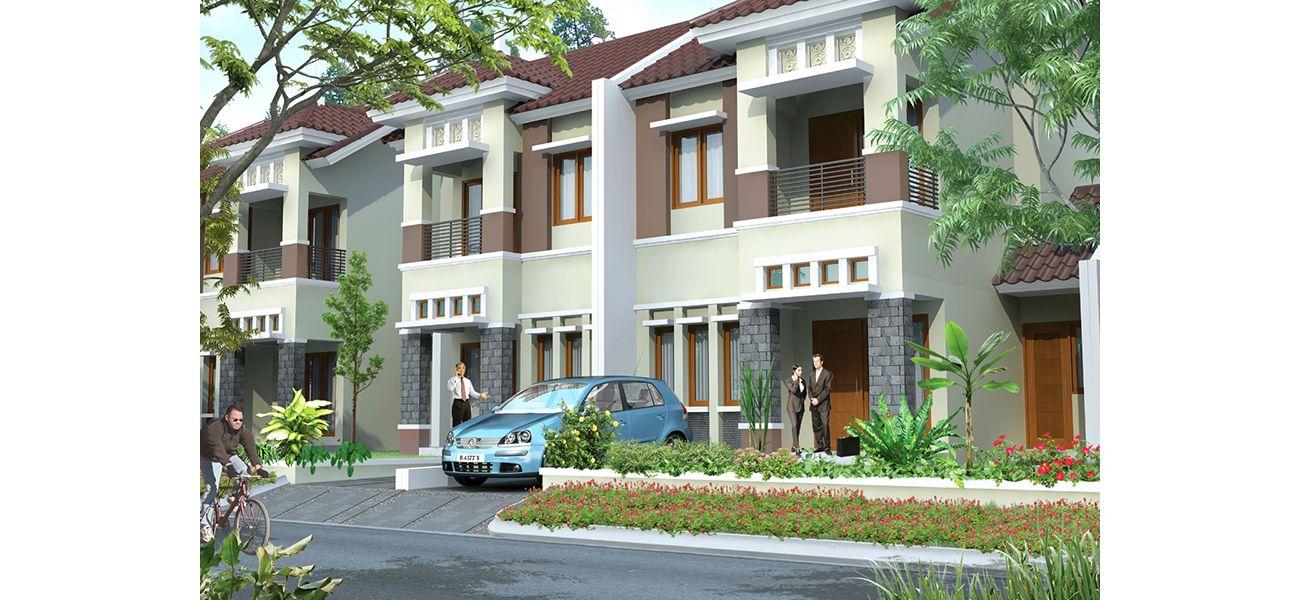 Residensial Aralia at Kota Harapan Indah di Bekasi