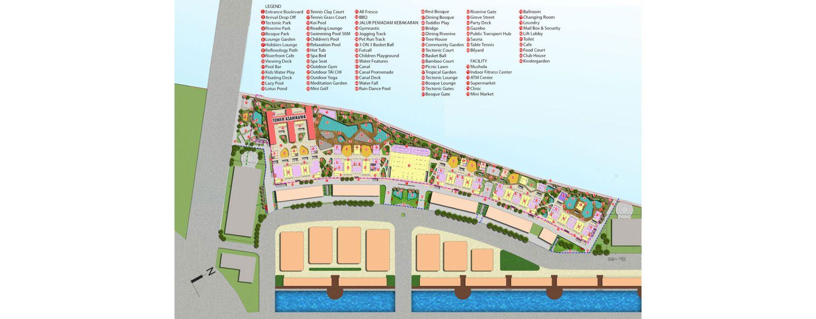 Residensial PIK 2 - Osaka Riverview di Jakarta Utara