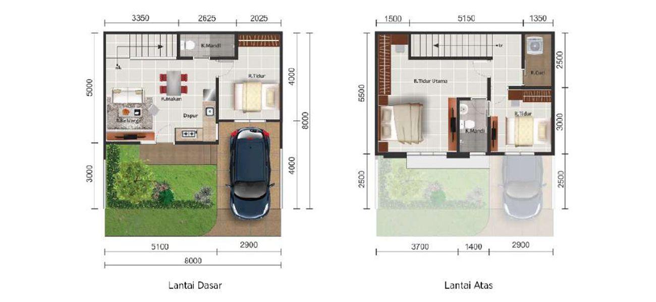 Residensial Paramount Land Alma Tipe L8 di Tangerang