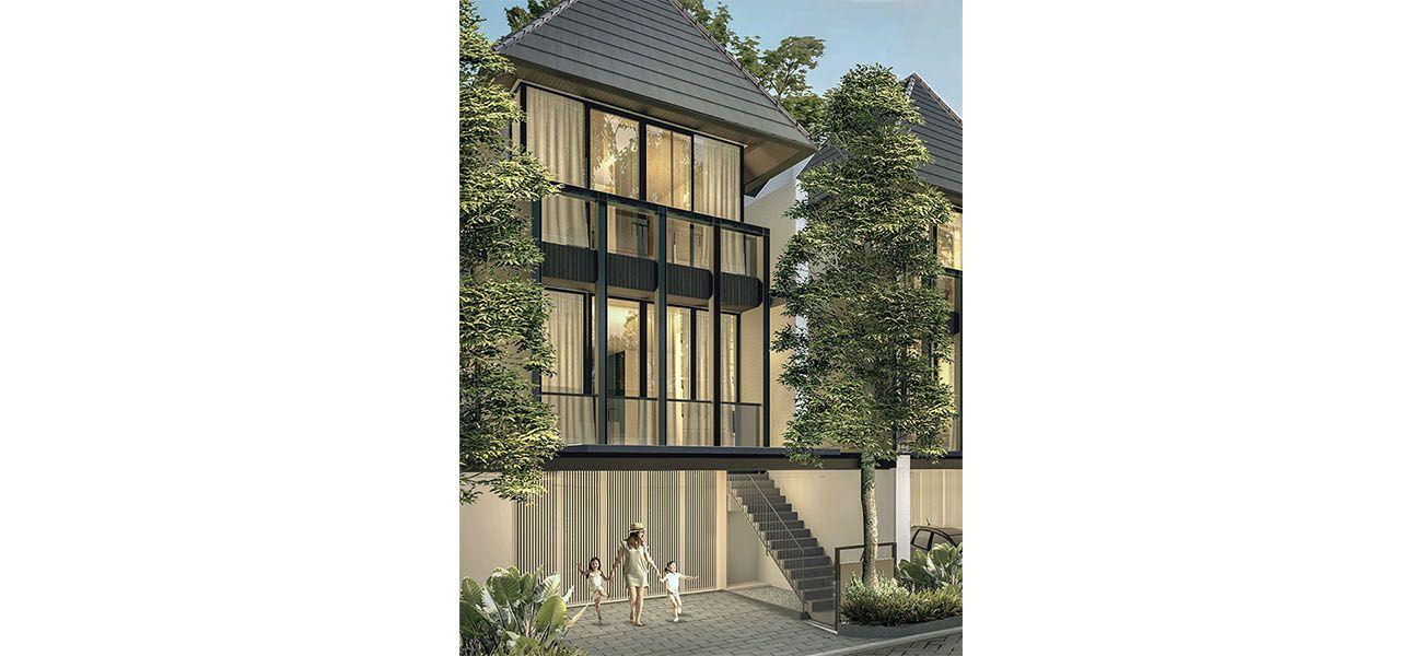 Residensial Palma at Pinang Residences di Jakarta Selatan