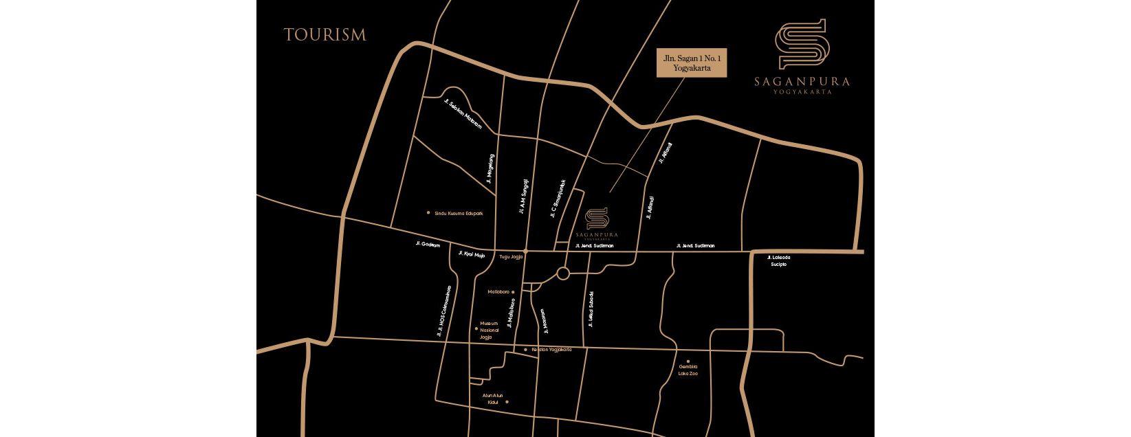 Residensial Saganpura Apartemen di Yogyakarta