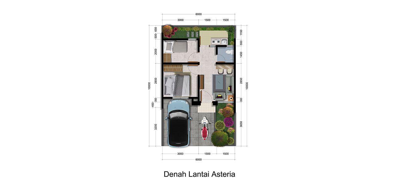 Residensial & Komersial Galuh Mas Karawang Cluster Asteria di Karawang