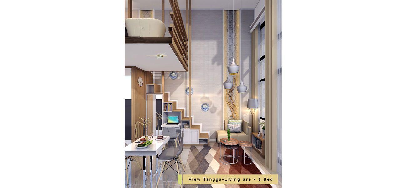 Residensial Tower Blueberry Tipe Studio di Jakarta Selatan