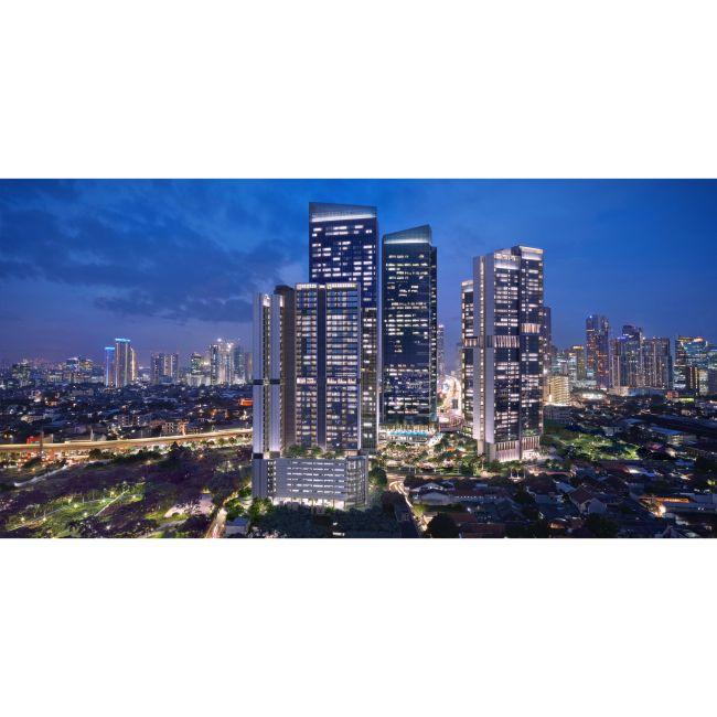 Residensial Tower Orchard Satrio Tipe 3+maid di Jakarta Selatan