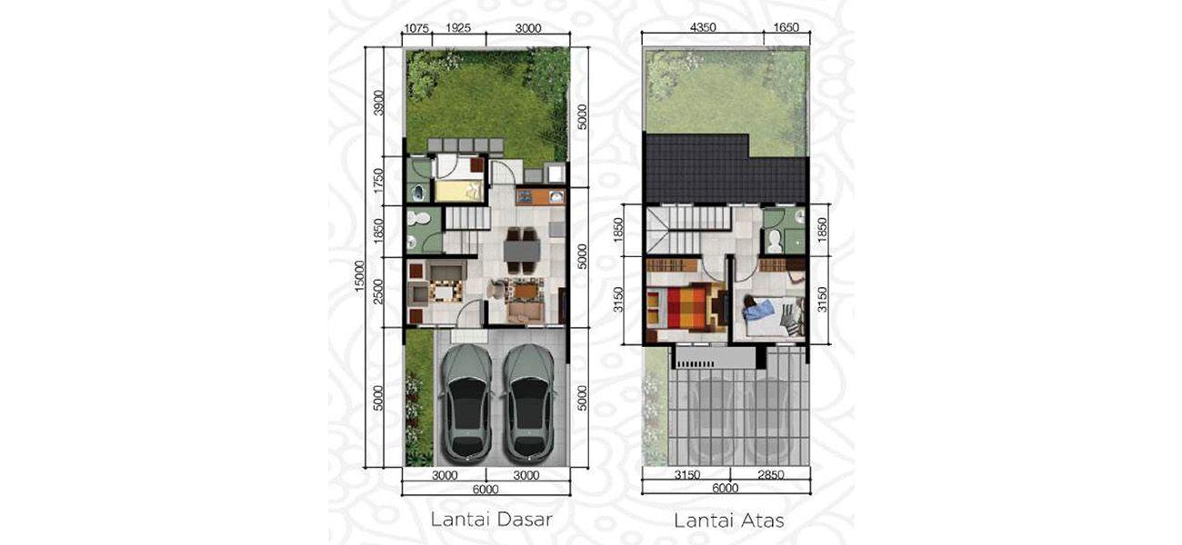 Residensial Cluster Shinano Tipe L6 di Jakarta Timur