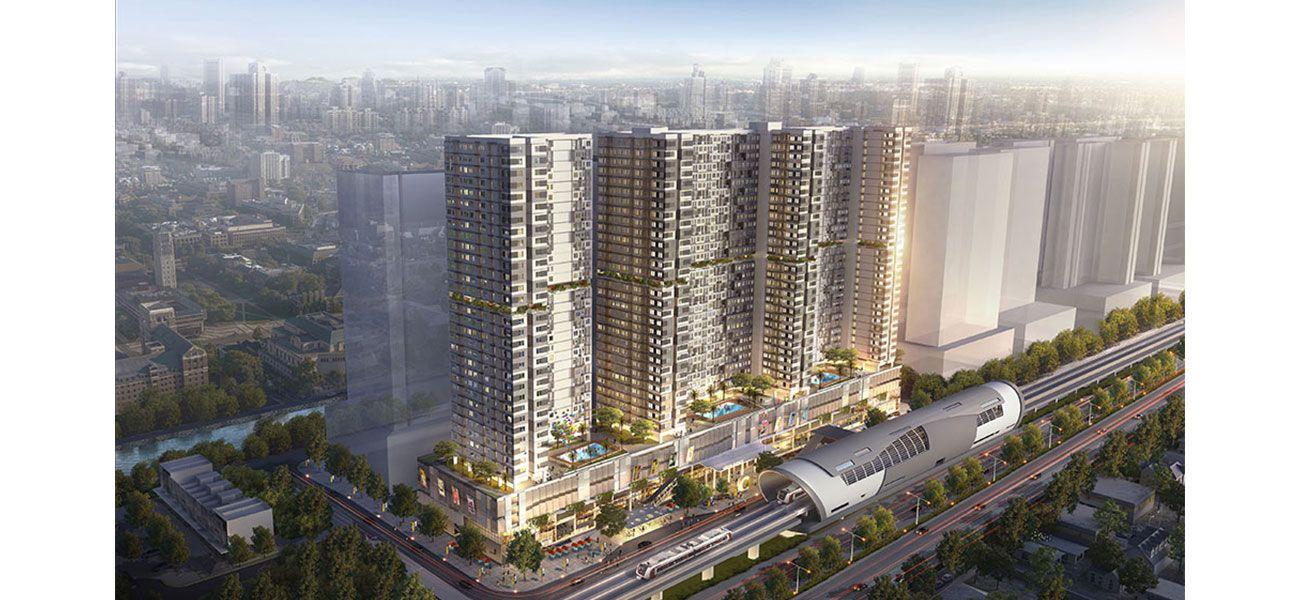 Residensial LRT City Green Avenue di Bekasi