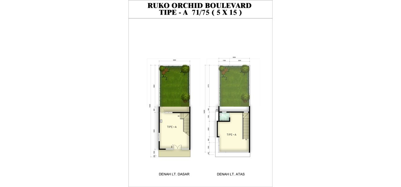 Ruko Orchid Citra Indah Tipe A