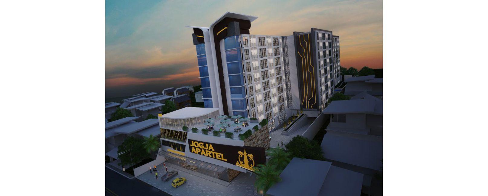 Residensial Jogja Apartel Tipe 3BR di Yogyakarta