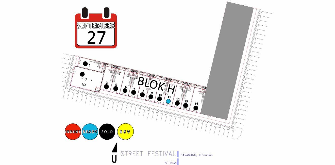 Residensial & Komersial Ruko Street Festival – Galuh Mas di Karawang