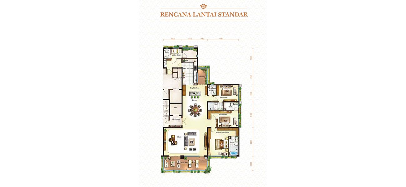 Residensial & Komersial Nigella Park at Forest City Tipe Breeze Mansion di Jakarta Utara