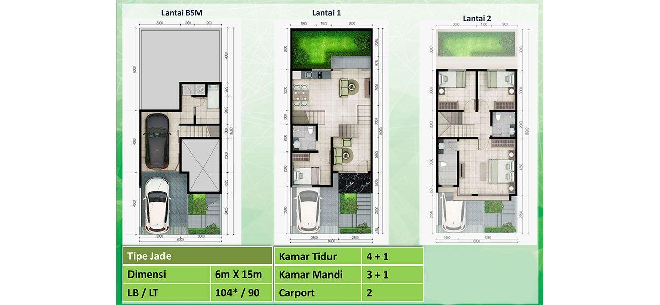 Emerald Terrace at Jatiasih Tipe Jade