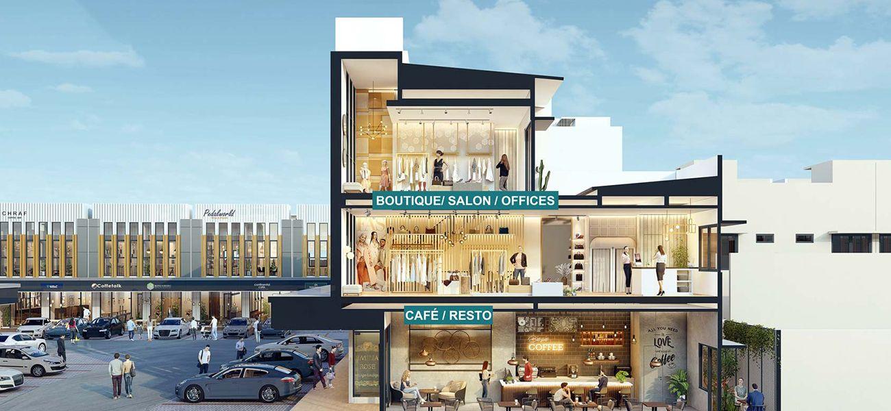 Residensial & Komersial Downtown Madison Tipe 2 LT di Bogor