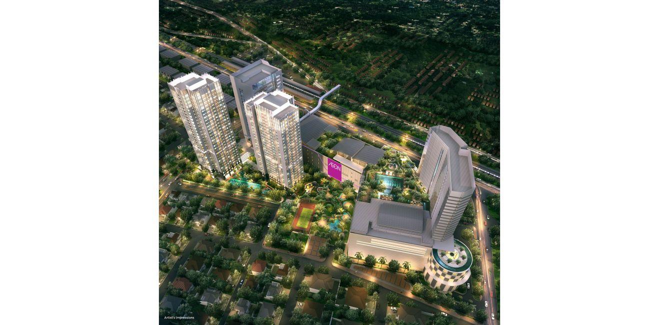 Residensial Southgate Residence di Jakarta Selatan