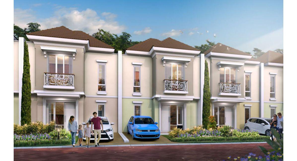 Residensial Paramount Land Serpong di Tangerang