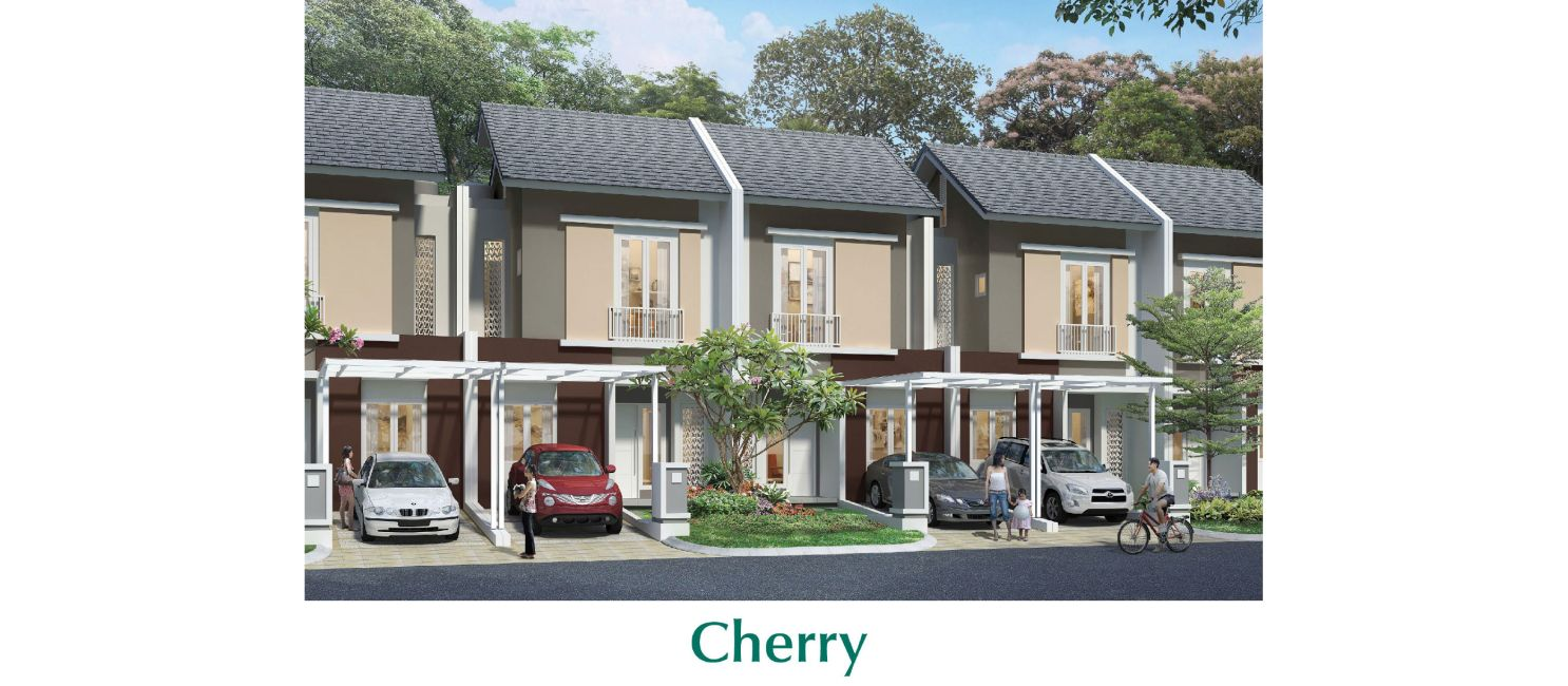 Residensial Cluster Chelsea & Cherry at Summarecon Bandung di Bandung