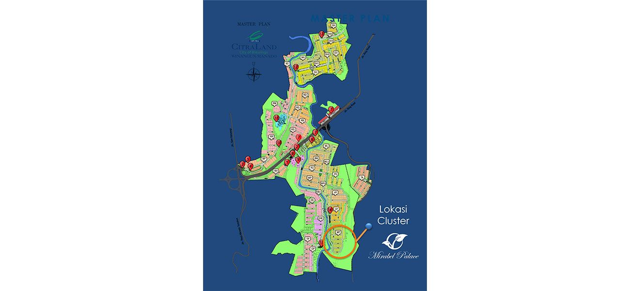 Residensial Citraland Manado – Mirabel Palace Tipe Penrose  di Manado