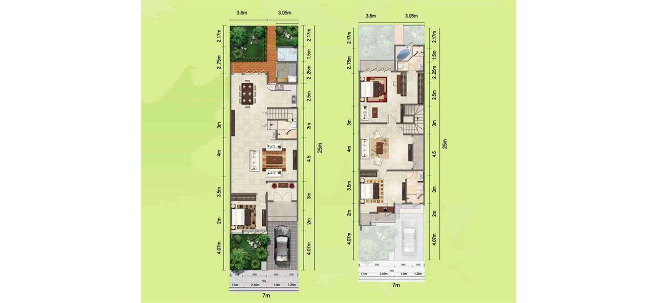 Residensial & Komersial GKIC – Bukit Kawanua Tipe New Menza di Manado