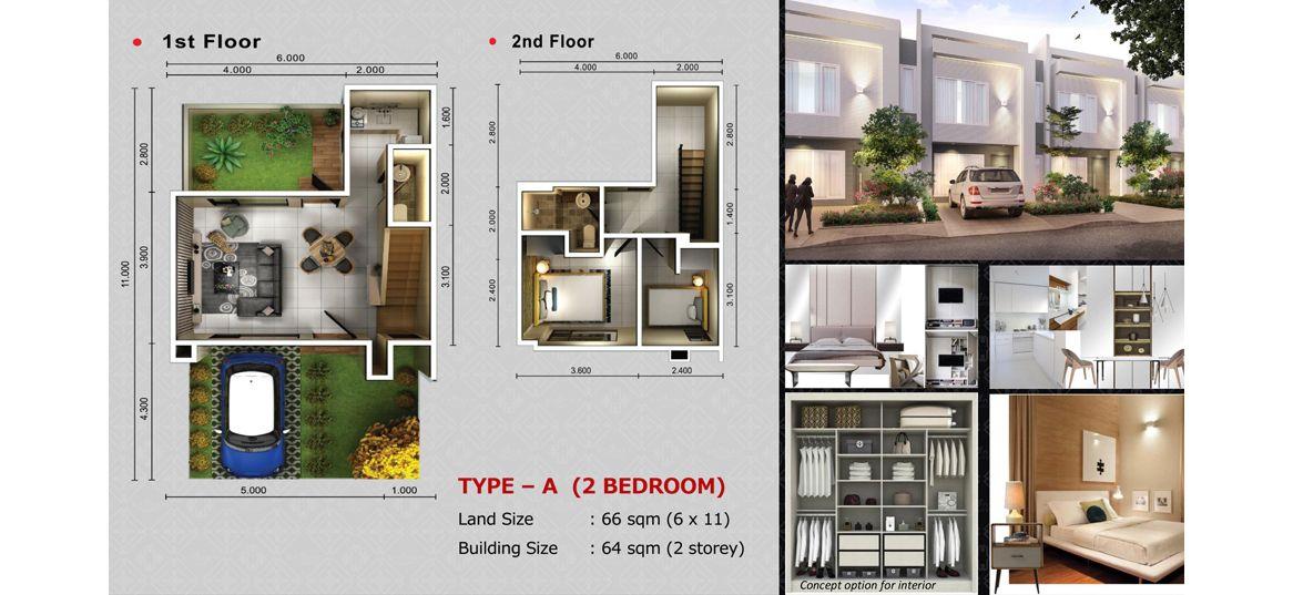 Residensial SAVASA Tipe A di Bekasi